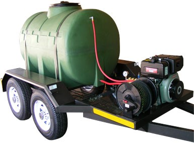 Sewer Cleaning Trailer