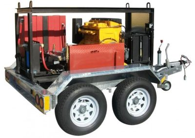 High Pressure Cleaning Trailer