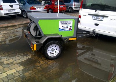 Industrial Cleaning Services H.P. and Sewer Cleaning Trailer2